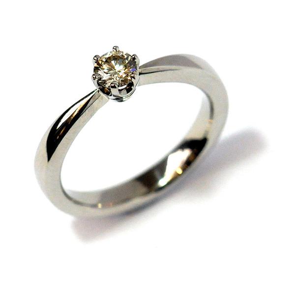 Verlobungsring Palladium Brillant (1008070)